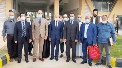 صورة بلدية تاجوراء تستقبل السفير التركي لدى ليبيا