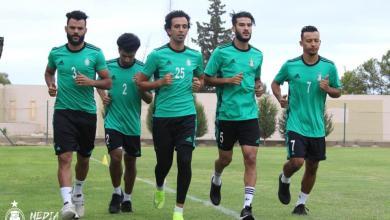 """صورة تحضيرًا لاستئناف الموسم.. """"الأهلي طرابلس"""" يباشر تدريباته"""
