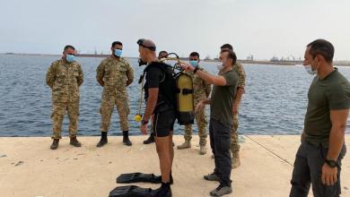صورة القوات البحرية التركية تُدرّب عناصر ليبية في الخمس