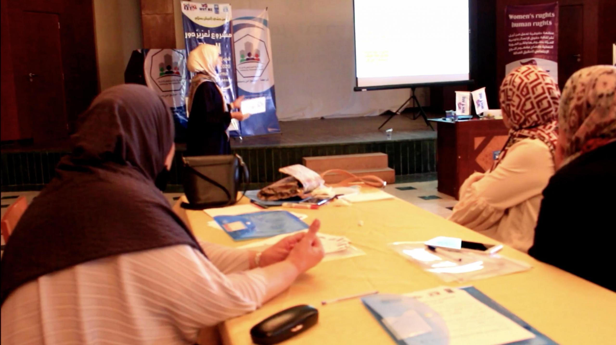 تعزيز دور المرأة في التعايش السلمي - درنة