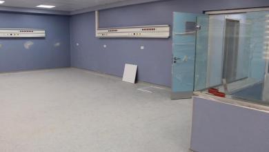 صورة اقتراب نهاية أعمال الصيانة بمستشفى الزهراء العام