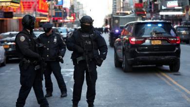"""صورة عمدة نيويورك: الشرطة تتأهب تحسبًا لـ""""شغب الانتخابات"""""""