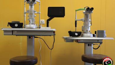 صورة صحة الوفاق تزوّد مستشفى العيون بأجهزة متطورة