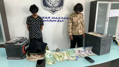 طرابلس.. ضبط شخصين في منطقة الباعيش يقومان بالسطو المسلح