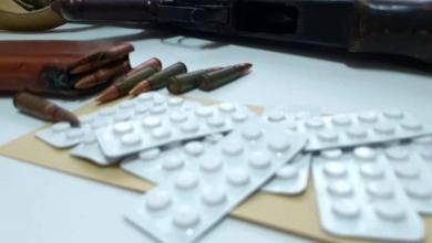 صورة داخلية الوفاق: إدارة مكافحة المخدرات ضبطت شخص بحوزته أقراص مخدرة