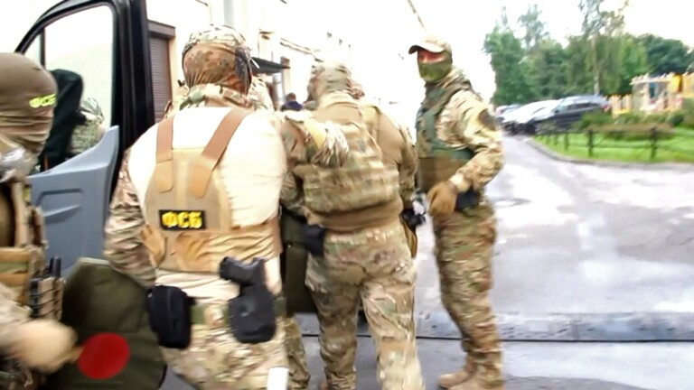 صورة إحباط تفجير إرهابي داخل إحدى المؤسسات الروسية