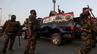 صورة القبض على قيادي بداعش مع 3 من معاونيه في العراق