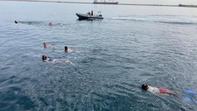 صورة أتراك يُدرّبون قوات الوفاق في شواطئ الخمس