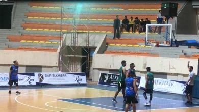 """صورة وسط منافسات قوية.. """"بنغازي"""" تستضيف بطولة """"3×3"""" لكرة السلة"""