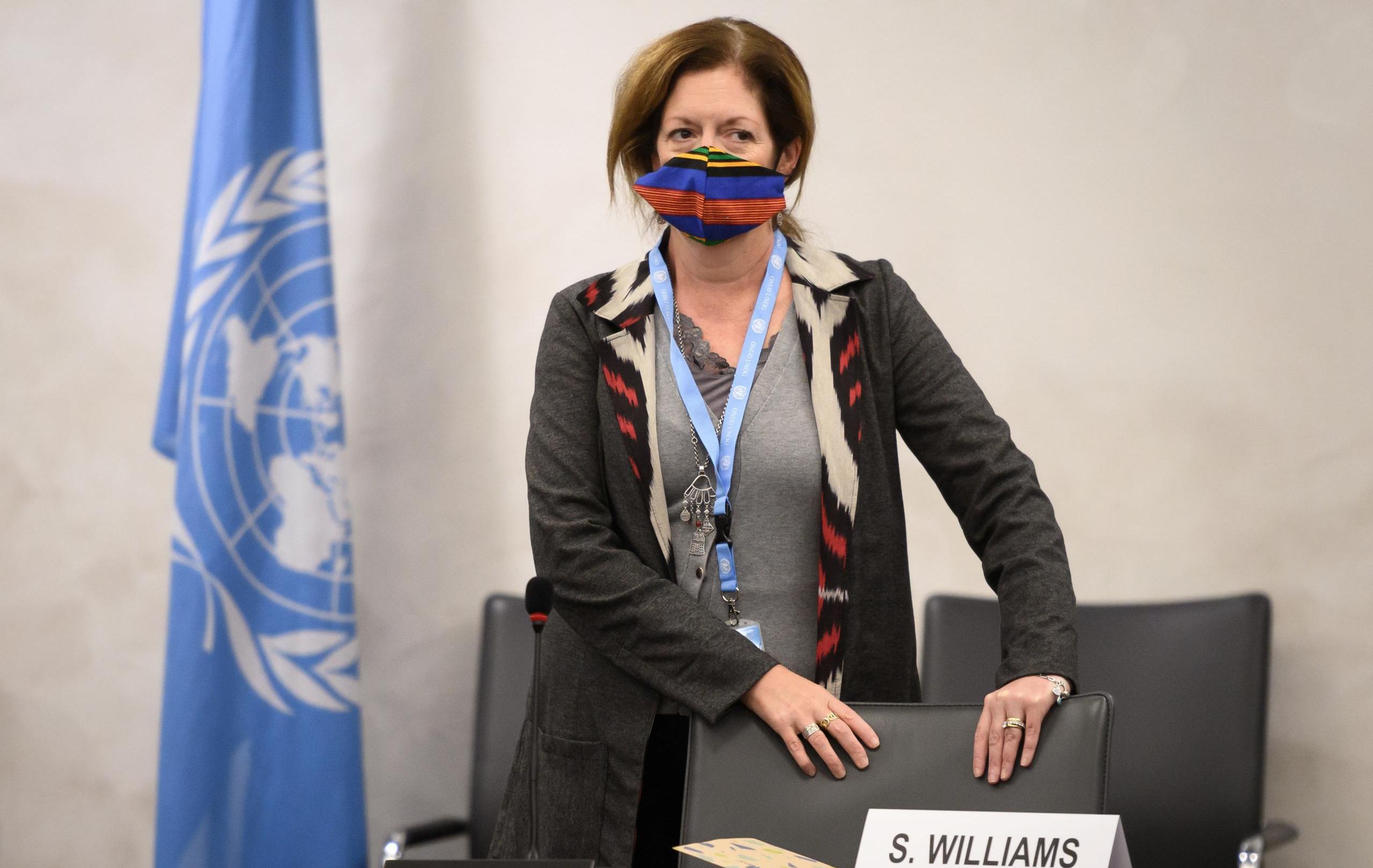 مبعوثة الأمم المتحدة إلى ليبيا ستيفاني وليامز