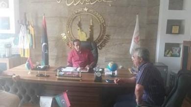 صورة الحكومة الليبية تتابع أعمال الصيانة بمحطة بحوث الفتائح في درنة