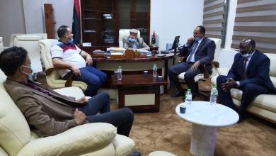 """صورة """"بلدي الشويرف"""".. لقاء مع وزير شؤون النازحين بحكومة الوفاق"""