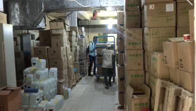 صورة شحنة طبية لسد العجز في غدامس