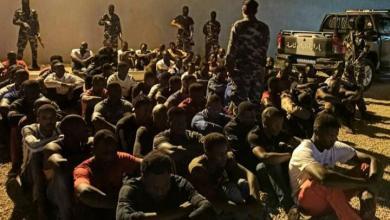 """صورة مصراتة.. القبض على 96 شخصاً من جنسيات أفريقية """"بتهمة إدارة أوكار دعارة"""" –((صور))"""