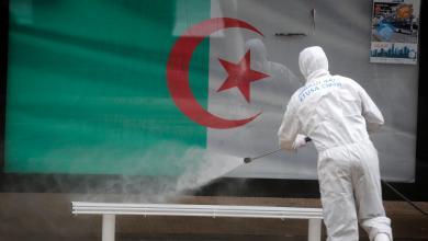 """صورة الحكومة الجزائرية تحذر مواطنيها من الاستهانة بـ""""جائحة كورونا"""""""