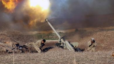 صورة قصف متبادل بين أذربيجان وأرمينيا.. وسقوط عشرات القتلى
