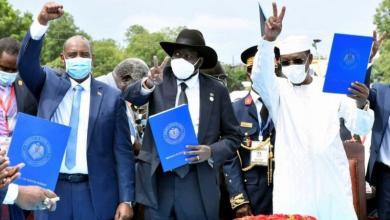 صورة السودان.. توقيع اتفاق السلام النهائي بين الحكومة والجماعات المتمردة