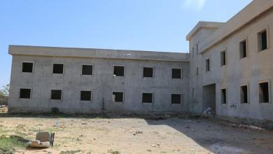 """صورة طرابلس.. استئناف تشييد مدرسة الدويس بـ""""مشروع الهضبة"""""""