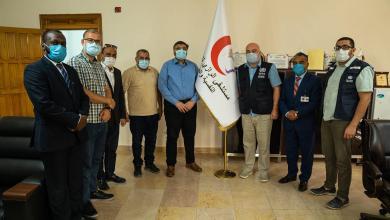 صورة منظمة الصحة العالمية تجري زيارة لمستشفى الرازي في طرابلس