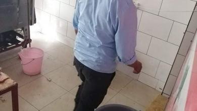 """صورة إقفال """"3""""محلات بيع لحوم في""""سوق الجمعة"""" لعدم التقيد بالمعايير الصحية"""