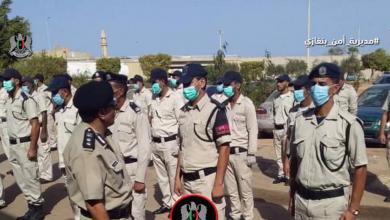 """صورة """"أمن بنغازي"""": تنفيذ عملية أمنية لفرض هيبة الدولة وسيادة القانون"""