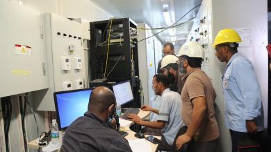 صورة الشركة العامة للكهرباء: دخول المحطة الأولى الخمس للتشغيل اليوم