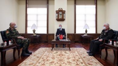 صورة آكار للحداد: تركيا ستواصل دعم حكومة الوفاق