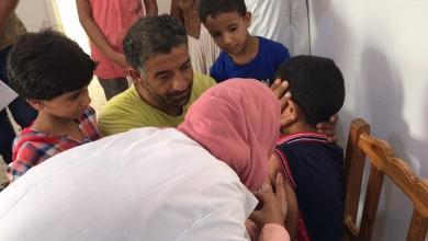 صورة شحنة تطعيمات تُسعف أطفال طبرق
