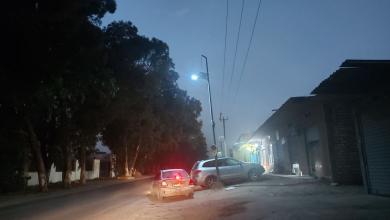 """صورة لأول مرة.. إنارة """"شوارع بوسليم"""" بألواح الطاقة الشمسية -((صور))"""