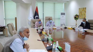 """صورة """"الوطنية للنفط"""" تعقد الاجتماع الفني لمعهد النفط الليبي"""
