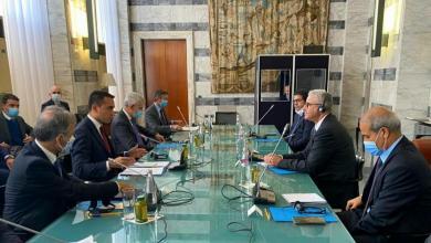"""صورة """"التعاون الأمني"""" على طاولة باشاغا ودي مايو"""