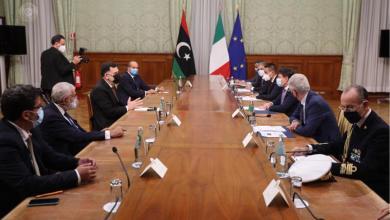 صورة السراج وكونتي يُجددان التأكيد على الحل السياسي في ليبيا