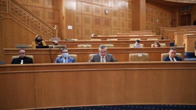 صورة الجرندي يناقش مستجدات الملف الليبي بمجلس الشعب التونسي