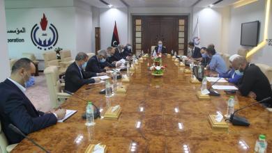 """صورة """"الوطنية للنفط"""" تعتمد الحسابات الختامية لشركة شمال أفريقيا"""