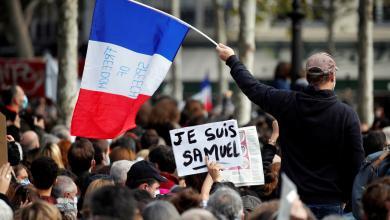 صورة بعد ذبح المعلم.. فرنسا تعتزم طرد 231 أجنبياً
