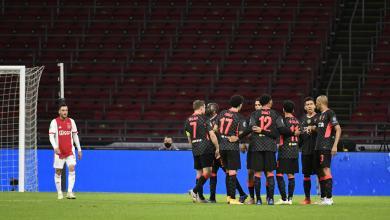 صورة ليفربول يعود من أمستردام بفوز صعب على أياكس
