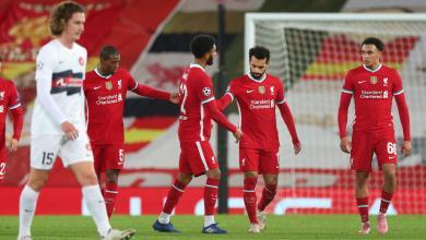 """صورة """"ليفربول"""" يحقق انتصاره الثاني على التوالي.. بدوري الأبطال"""