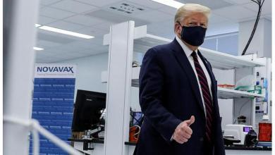 صورة ترامب يعد بتقديم لقاح كورونا وعلاجه مجانا