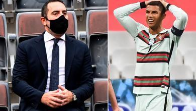 """صورة وزير الرياضة الإيطالي يتهم """"الدون"""" بخرق البروتوكول الصحي"""
