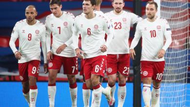 صورة الدنمارك تفاجئ إنجلترا في ويمبلي