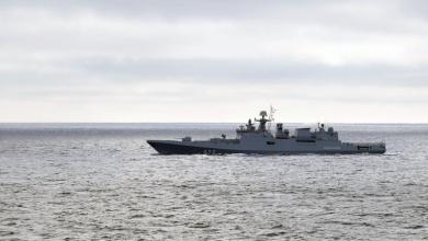 """صورة الأولى من نوعها.. مناورات بحرية """"روسية- مصرية"""" في البحر الأسود"""
