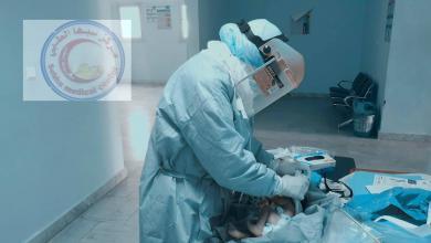 صورة عودة طلبة الطب إلى قسم الأطفال بمركز سبها الطبي