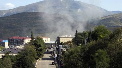 صورة اتهامات متبادلة بين أرمينيا وأذربيجان بخرق وقف إطلاق النار