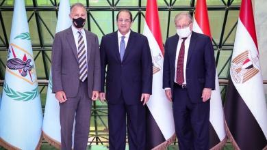"""صورة مباحثات """"أميركية- مصرية"""" حول الحوار السياسي الليبي"""