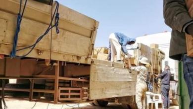 صورة بلدية سرت تواصل استقبال شحنات السلع التموينية المخصصة للجمعيات