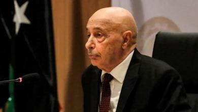 صورة عقيلة صالح يصل القاهرة لبحث التطورات الليبية
