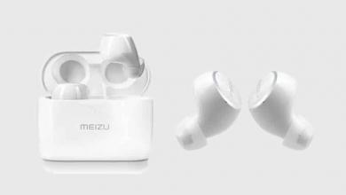 """صورة """"Meizu"""" تكشف عن سماعة لاسلكية مميزة بحجمها ووزنها"""