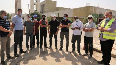 """صورة خبراء جزائريون في ليبيا لتخفيف أزمة الكهرباء """"صور"""""""