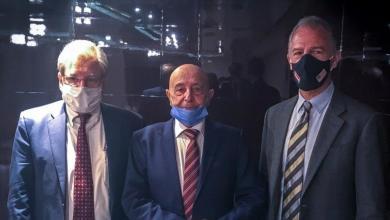 صورة نورلاند يلتقي عقيلة صالح ويشيد بداعمي الحوار السياسي