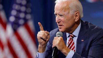 """المرشح الديموقراطي لانتخابات الرئاسة الأميركية """"جو بايدن"""""""